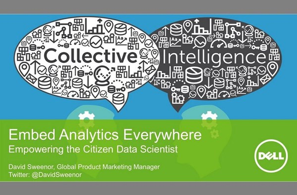 Image for Embed Analytics Everywhere: Enabling the Citizen Data Scientist