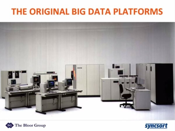 Image for Big Iron, Meet Big Data: Liberating Mainframe Data with Hadoop and Spark